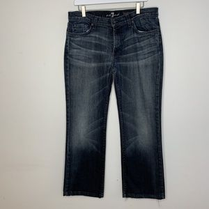 7 for all Mankind Mens Bootcut Jeans 36/30